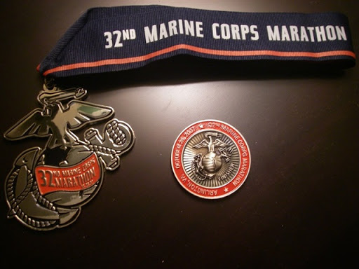 The 2008 Marine Corps Marathon Race Report | DC Rainmaker