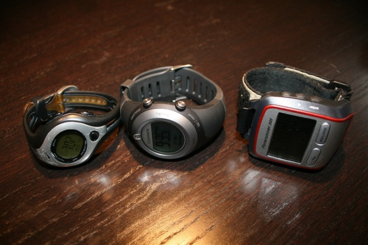 Garmin 305 and 405 comparison
