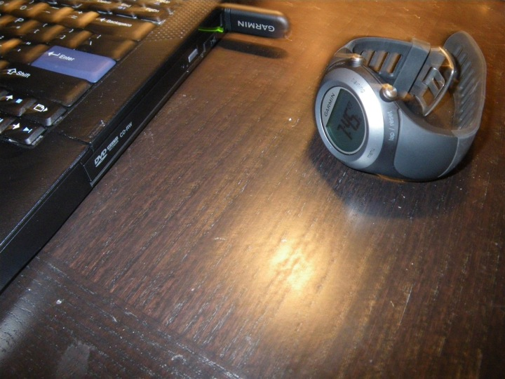 Garmin 405 Wireless Sync