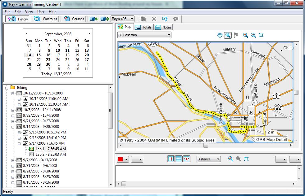 Garmin Forerunner 305 Training Center Software Mac