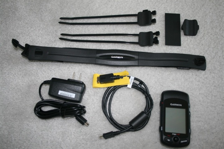 Garmin Edge 705 Box Contents