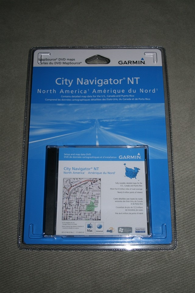 Garmin City Navigator CD