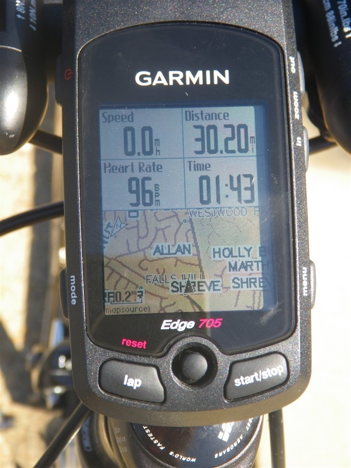 Garmin 705 Street Display