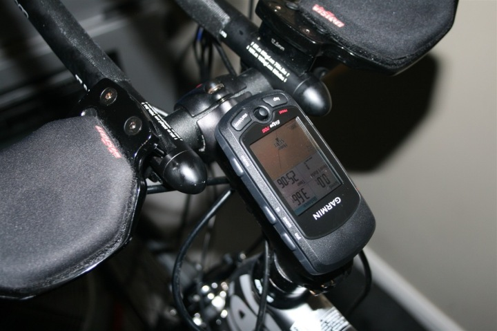 Garmin Edge 705 Incorrect Mounting