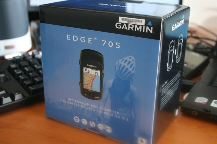 Garmin Edge 705 Box