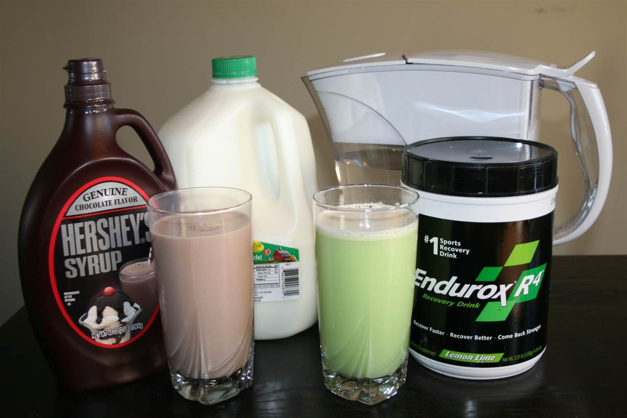 Chocolate Milk vs Endurox R4 Recovery Drink – Stimulus Edition ...
