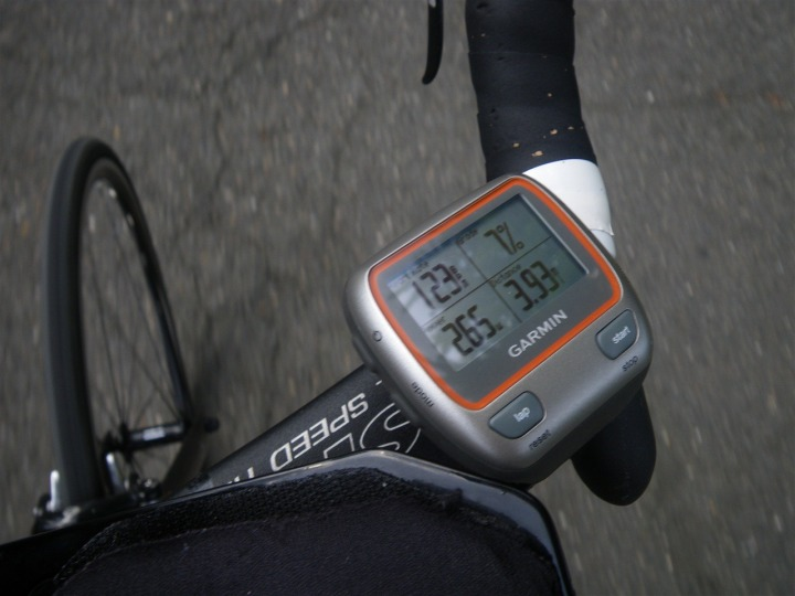 Garmin 310XT Power Display Options