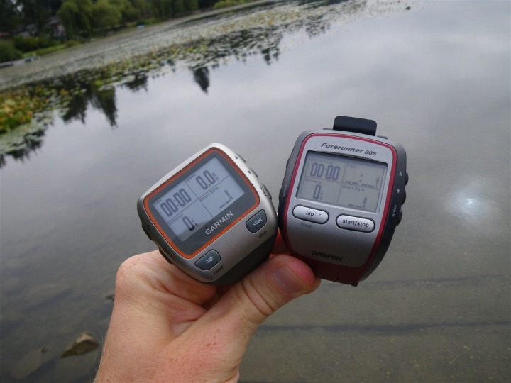 Garmin 310XT and 305 ready to swim!