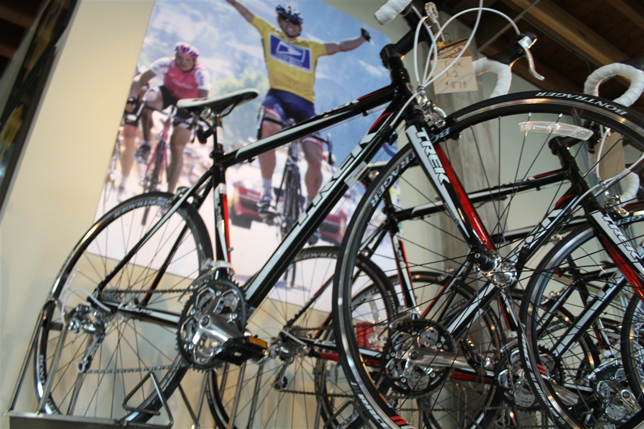 Will There Someday Be Bike In >> A Look Inside Lance Armstrong S Bike Shop Dc Rainmaker