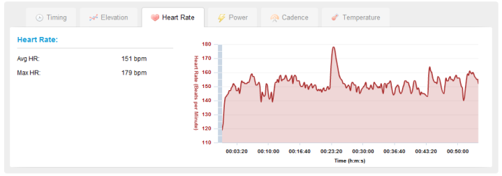 Edge 500 Garmin Connect Heart Rate Chart