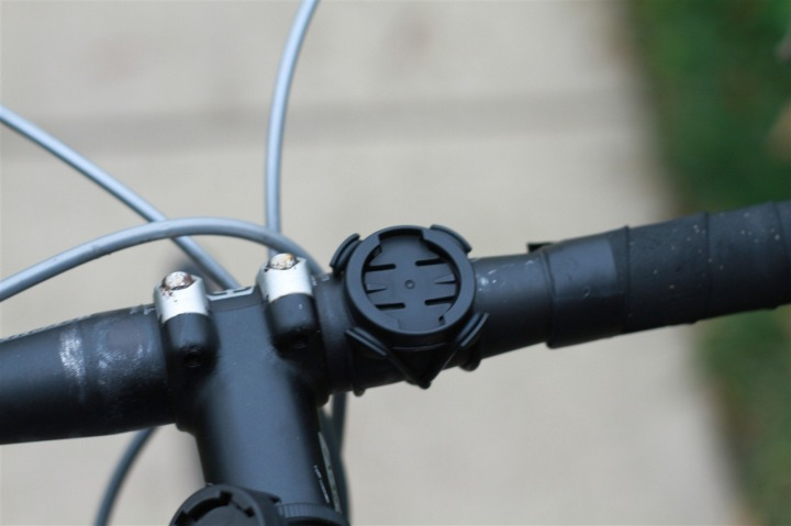 Edge 500 mount system on road bike