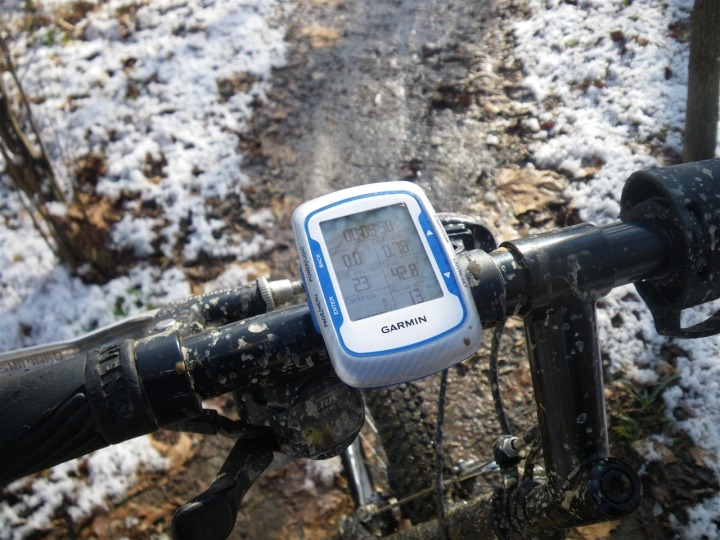 Edge 500 mount system on mountain bike