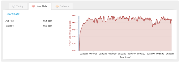 Heart Rate in Garmin Connect