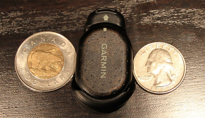 FR-60 Foot Pod Loonie Comparison