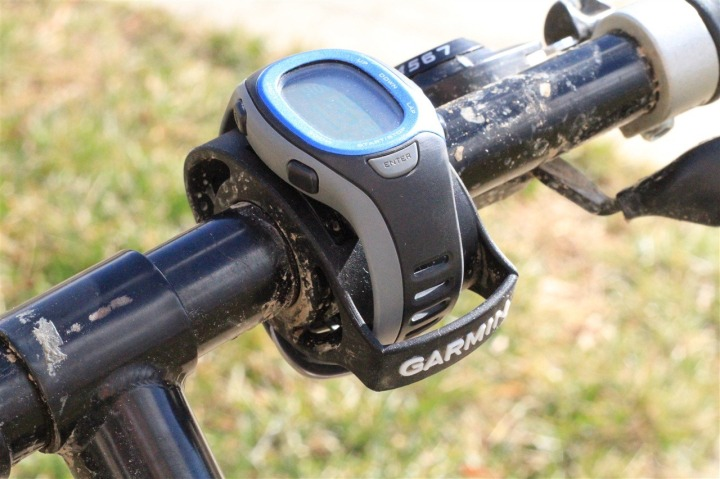 FR-60 Bike Mount on Mountain Bike
