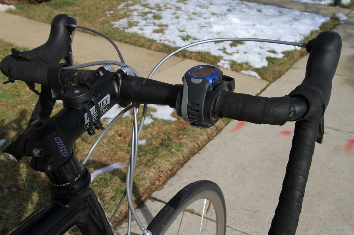 FR-60 Bike Mount on Road Bike