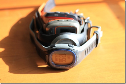 Garmin Forerunner Comparison Shots