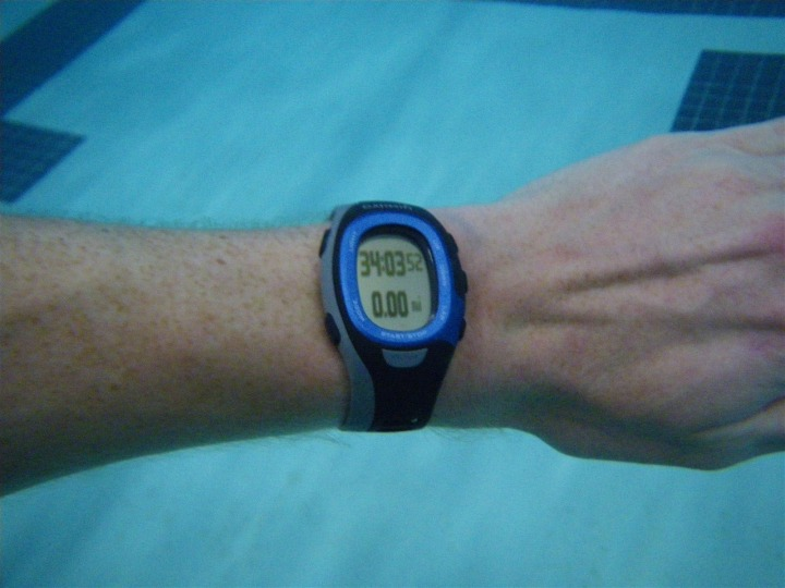 FR-60 in swimming pool