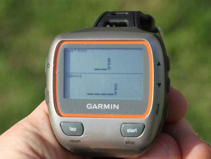 Garmin 310XT HR and Cadence