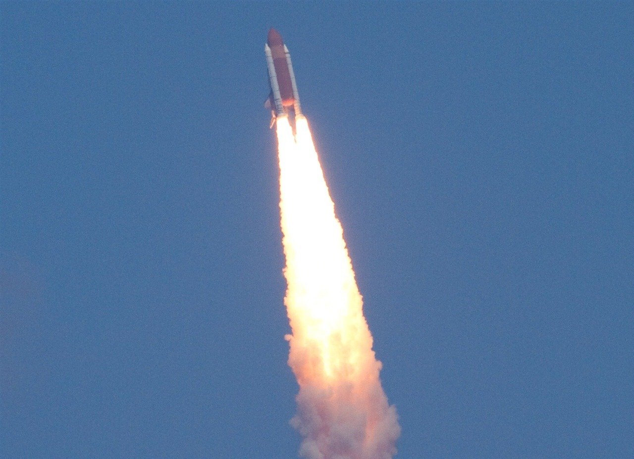 launch space shuttle boosters - photo #29