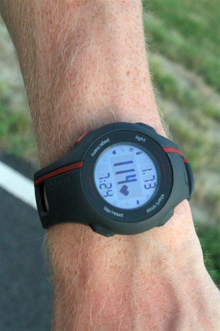 Garmin Forerunner 110 Running data fields