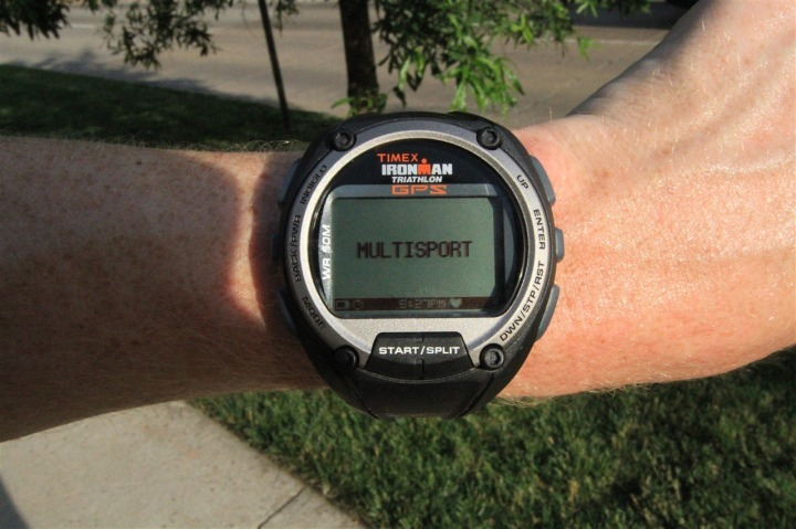 Timex Global Trainer Multisport Mode