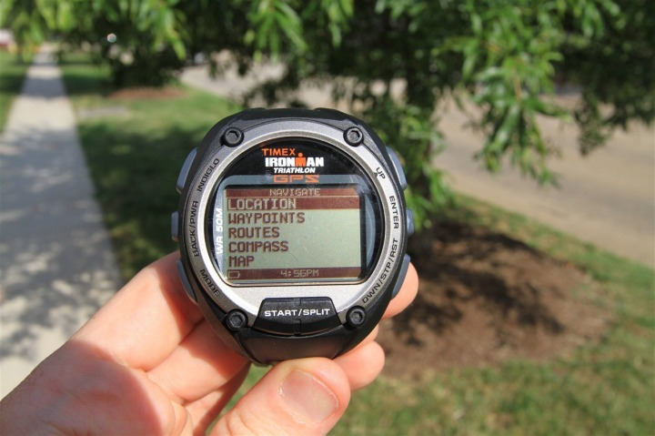 Timex Global Trainer Navigation Mode