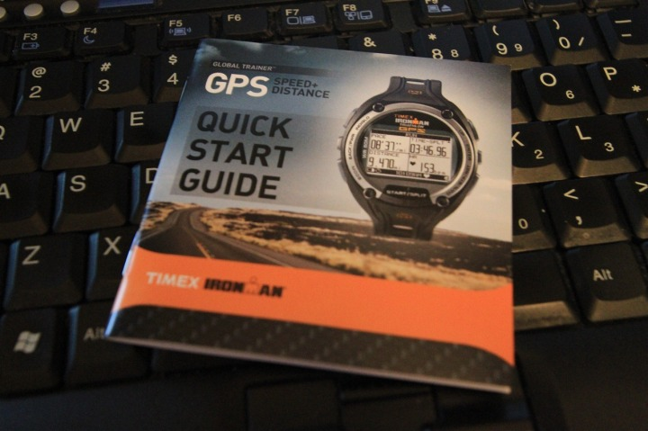 Timex Global Trainer Quick Start Guide