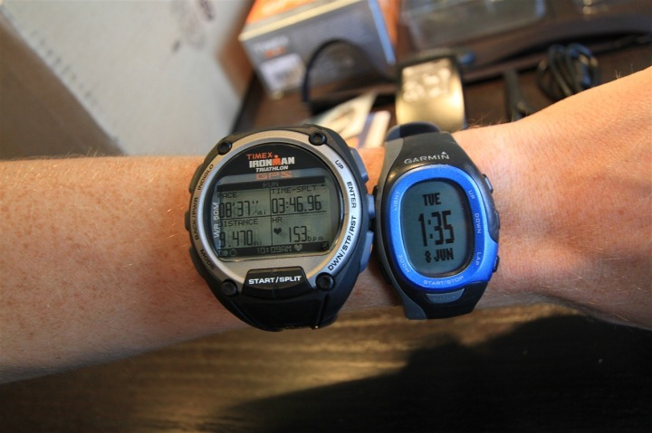 Timex Global Trainer with Garmin FR60