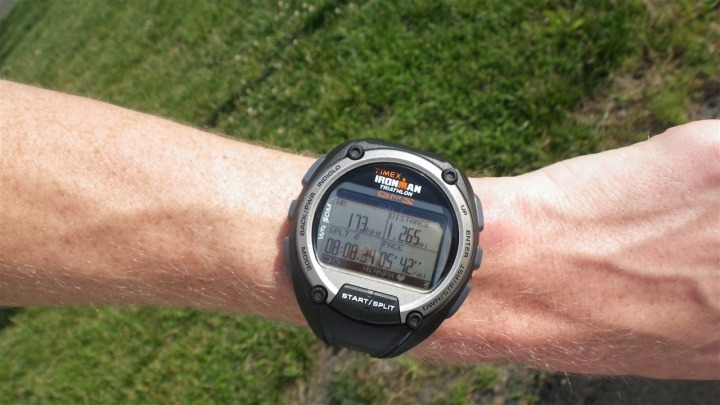 Timex Global Trainer While Running