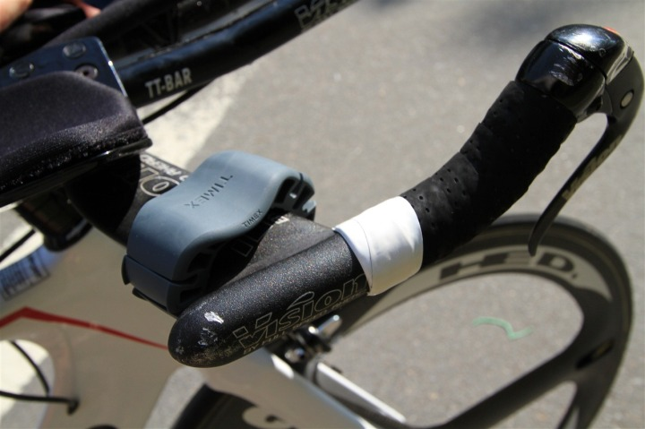 Timex Global Trainer Bike Mount on Tri Bike