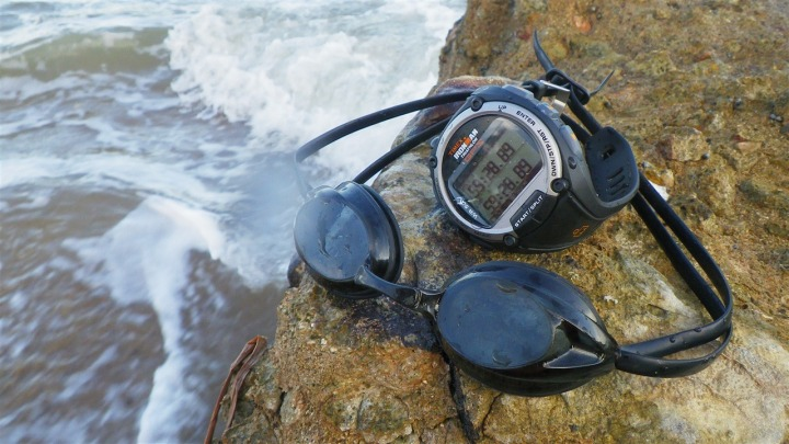 Timex Global Trainer after a swim