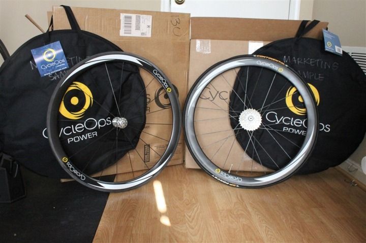 CycleOps PowerTap Wheelset Unboxed