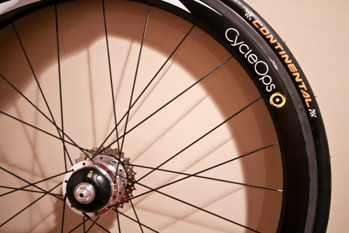 CycleOps PowerTap Wheel with hub