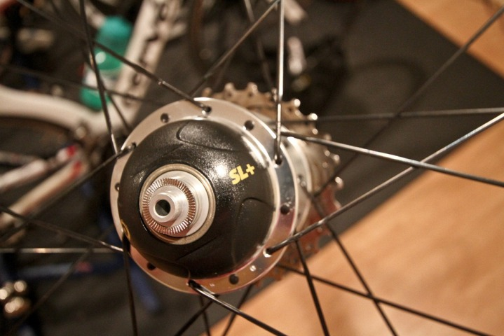 CycleOps PowerTap Hub Close Up