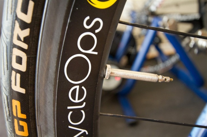CycleOps PowerTap Wheelset Longer Valve