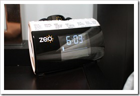 Zeo Sleep Machine on my bed stand