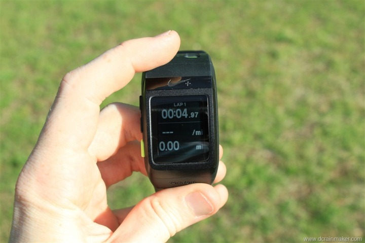 Nike+ GPS Sportwatch Tap to Lap