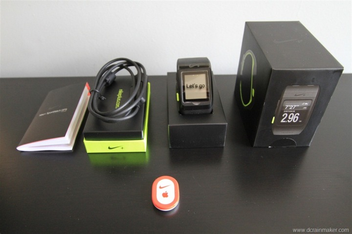 Nike+ GPS Sportwatch Unboxed
