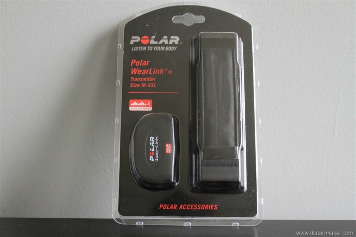 Nike+ GPS Sportwatch with Polar Wearlink+ Strap