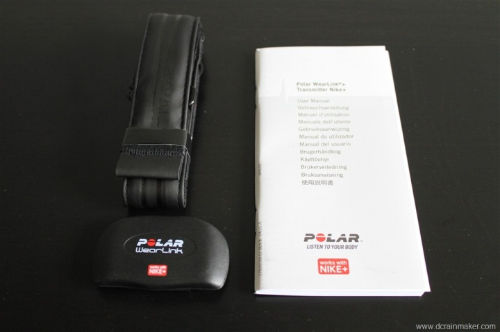 Nike+ Polar Wearlink+ Strap Unboxed
