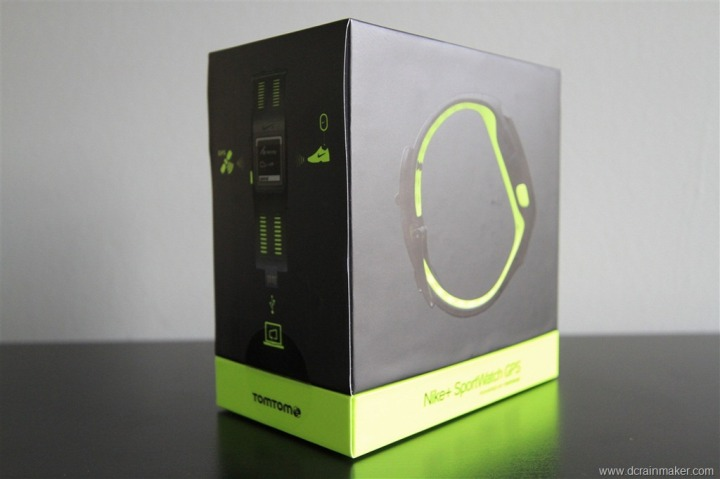 Nike+ GPS Sportwatch Box