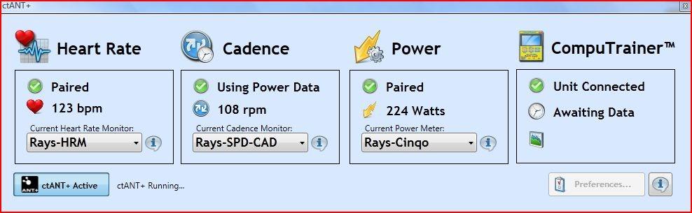 A look at CompuTrainer ANT+ integration via ctANT+   DC