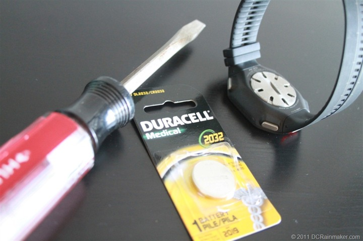 Polar RCX5 Battery Swapout Tools
