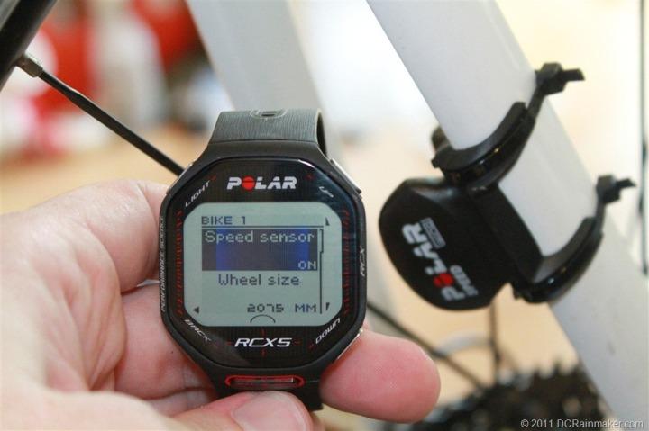 polar rcx5 armband