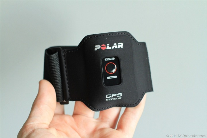 Polar G5 GPS Unit Armband with pod
