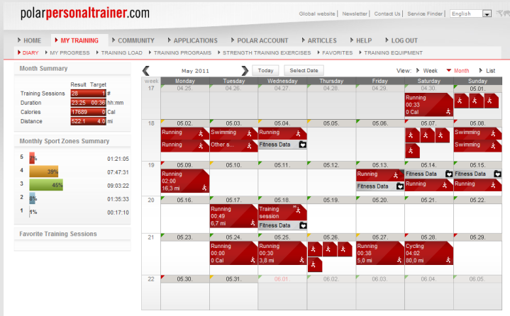 PPT Calendar Overview