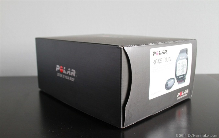 Polar RCX5 Run Box Standard