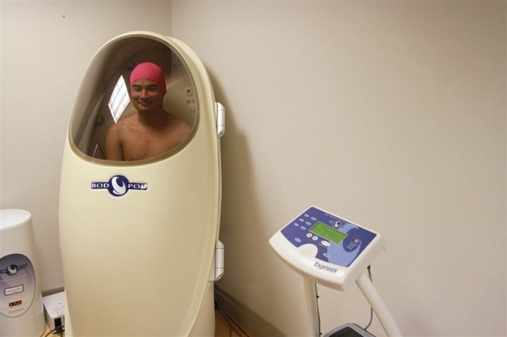 Mark in the Bod Pod