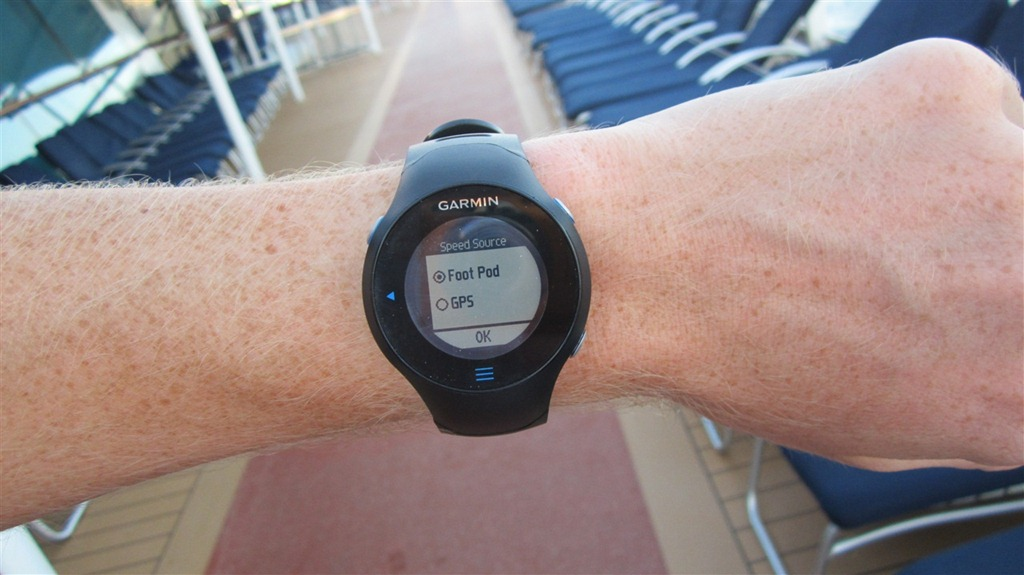 Fun With A Garmin GPS While Running On Cruise Ships At Sea DC - Cruise ship locater
